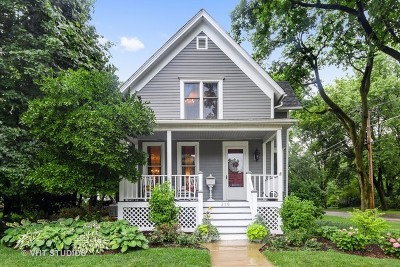Wheaton Single Family Home For Sale: 318 North West Street