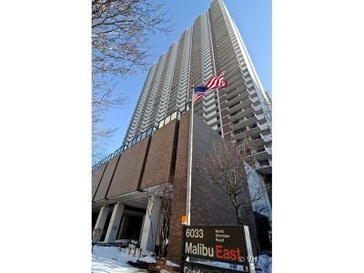 Cook County Condo/Townhouse For Sale: 6033 North Sheridan Road #18J