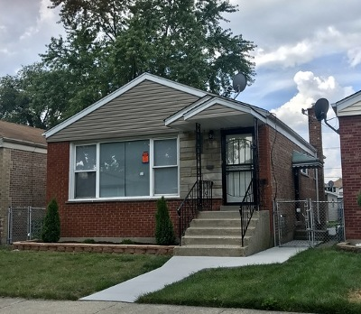 Calumet Park Single Family Home For Sale: 12514 South Honore Street
