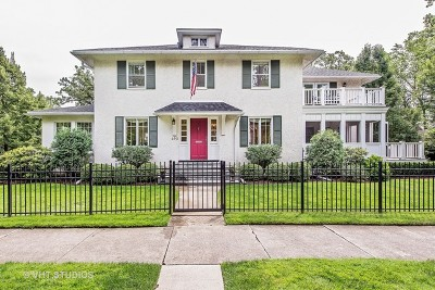 Winnetka Single Family Home For Sale: 490 Hawthorn Lane