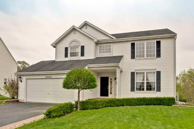 Round Lake Single Family Home Price Change: 25559 West Bluestem Road