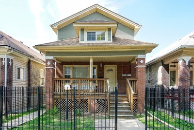 Single Family Home For Sale: 7944 South Maryland Avenue