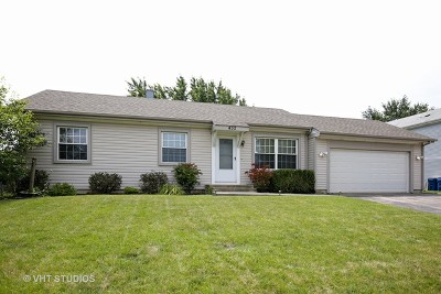 Bartlett IL Single Family Home For Sale: $240,000
