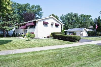 Roselle Single Family Home Price Change: 524 East Turner Avenue