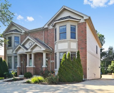 Downers Grove Condo/Townhouse For Sale: 342 Maple Avenue