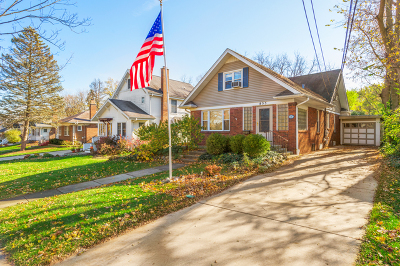 Glen Ellyn Single Family Home For Sale: 855 Hillside Avenue
