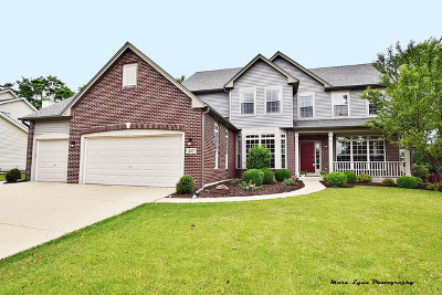 Oswego Single Family Home Contingent: 347 Whitewater Lane