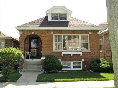 Single Family Home For Sale: 9419 South Wabash Avenue