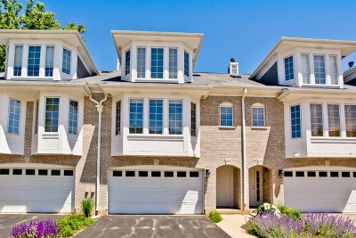 Palatine Condo/Townhouse For Sale: 1029 North Glenview Court