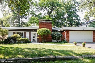 Glen Ellyn Single Family Home For Sale: 855 Crescent Boulevard