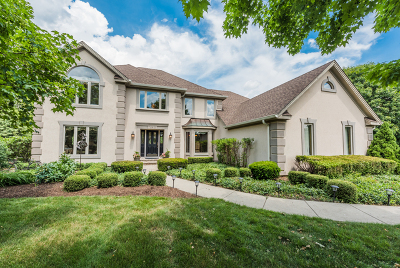 Hawthorn Woods Single Family Home Contingent: 3 Hilltop Court