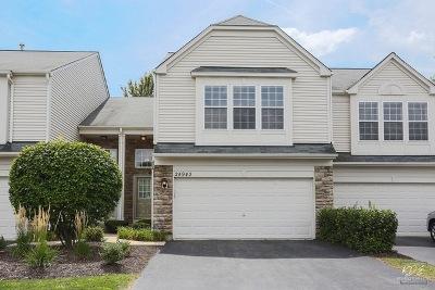 Plainfield Condo/Townhouse Price Change: 24943 Franklin Lane
