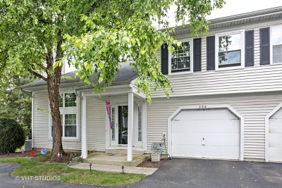 Streamwood Condo/Townhouse Contingent: 234 Butternut Lane