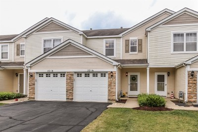 Carpentersville Condo/Townhouse For Sale: 2216 Flagstone Lane