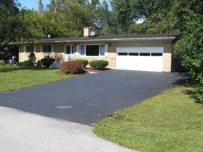 Algonquin Single Family Home For Sale: 1115 Manhatas Trail