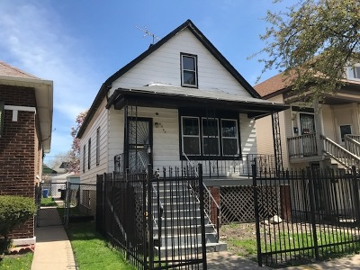 Single Family Home New: 8545 South Saginaw Avenue