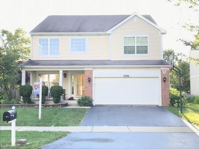 Aurora Single Family Home For Sale: 1751 Ellington Drive