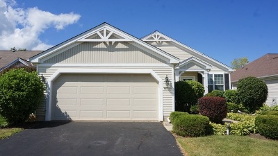Huntley Single Family Home For Sale: 11724 Nottingham Drive