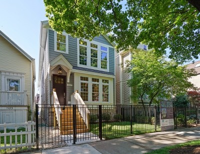 Single Family Home New: 1537 West Nelson Street