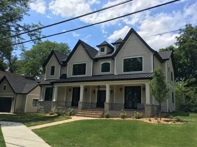 Glen Ellyn Single Family Home For Sale: 197 Hill Avenue