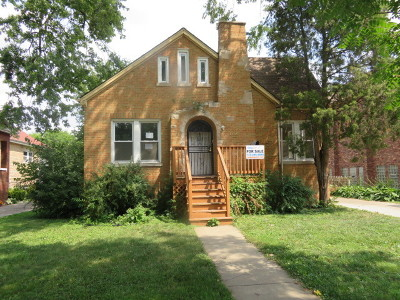 Chicago IL Single Family Home New: $54,900
