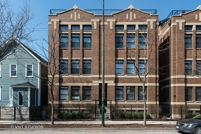 Cook County Condo/Townhouse For Sale: 2524 North Ashland Avenue #1N