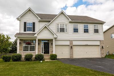 Round Lake Single Family Home New: 1722 South Fallbrook Drive