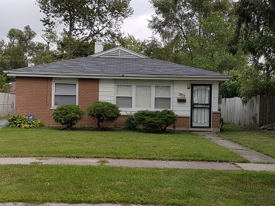Calumet City Single Family Home New: 1335 Imperial Avenue