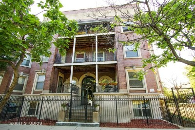 Condo/Townhouse New: 5240 South King Drive #2S