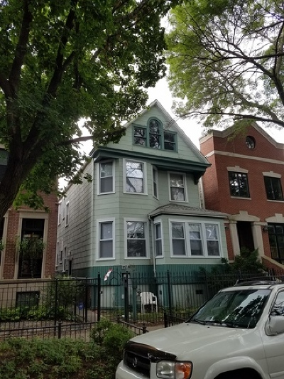 Cook County Multi Family Home For Sale: 1245 West Nelson Street West