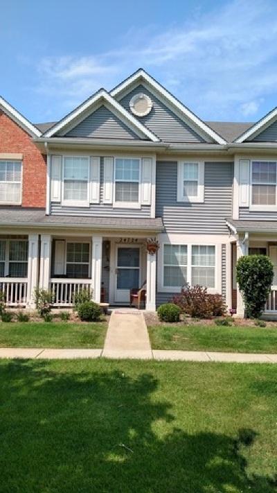 Plainfield Condo/Townhouse New: 24724 George Washington Drive