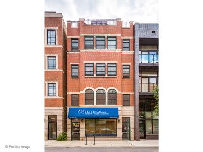 Cook County Condo/Townhouse For Sale: 2732 North Lincoln Avenue #4