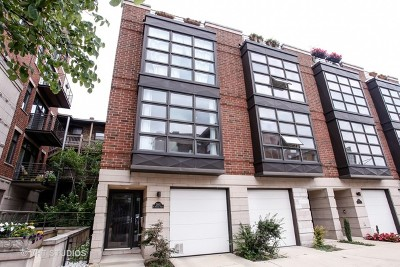 Cook County Condo/Townhouse For Sale: 2862 North Orchard Street