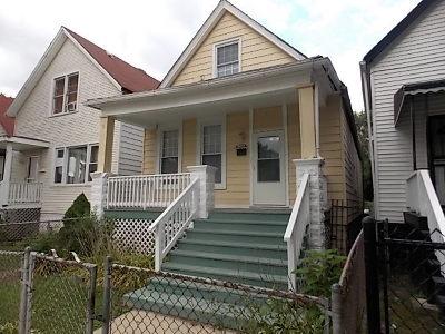 Single Family Home New: 10941 South Wabash Avenue
