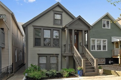 Cook County Single Family Home For Sale: 2423 West Fletcher Street