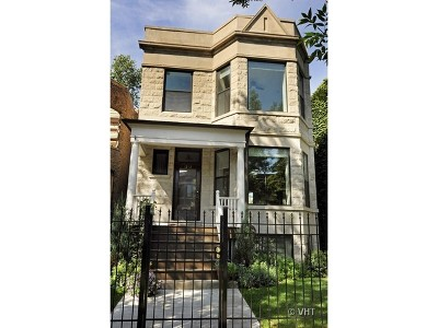 Cook County Single Family Home For Sale: 1212 West Eddy Street