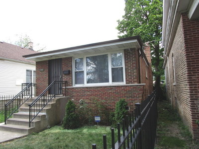 Chicago IL Single Family Home New: $125,000