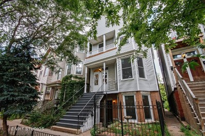 Cook County Multi Family Home For Sale: 1132 West Roscoe Street