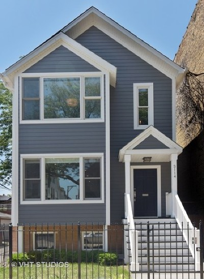 Cook County Single Family Home For Sale: 3114 North Clifton Avenue