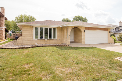 Palos Hills Single Family Home For Sale: 10725 South Palos Drive