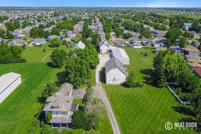 Plainfield Single Family Home For Sale: 25722 West Caton Farm Road