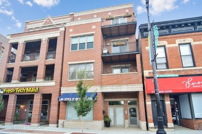 Cook County Condo/Townhouse For Sale: 1530 West Fullerton Avenue #1