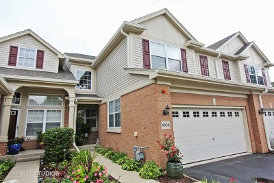 Lake Zurich Condo/Townhouse For Sale: 1004 Orchard Pond Court