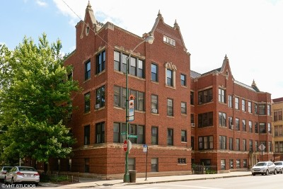 Cook County Condo/Townhouse For Sale: 603 West Addison Street #1