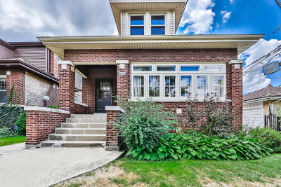 Cook County Single Family Home Contingent: 2743 West Ainslie Street