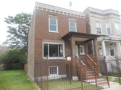 Single Family Home New: 5607 South Wabash Avenue