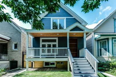 Chicago Single Family Home New: 2912 North Richmond Street