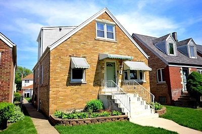 Chicago Single Family Home New: 5235 North Meade Avenue
