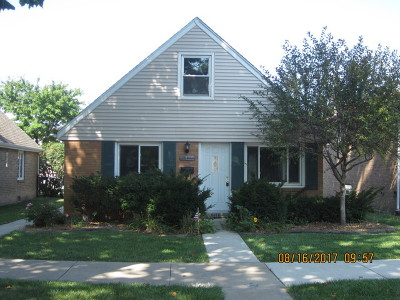 Chicago Single Family Home New: 6116 South Normandy Avenue