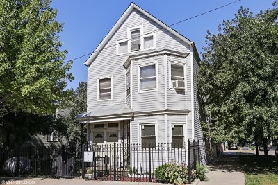 Chicago Multi Family Home New: 3101 North Lawndale Avenue